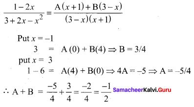 Samacheer Kalvi 11th Maths Solutions Chapter 2 Basic Algebra Ex 2.13 23