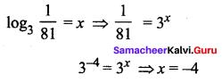 Samacheer Kalvi 11th Maths Solutions Chapter 2 Basic Algebra Ex 2.13 9