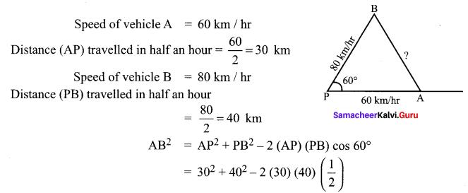 Samacheer Kalvi 11th Maths Solutions Chapter 3 Trigonometry Ex 3.10 18