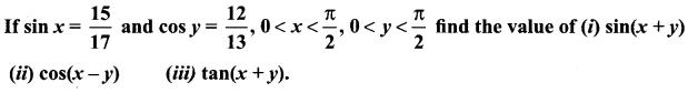 Samacheer Kalvi 11th Maths Solutions Chapter 3 Trigonometry Ex 3.4 1