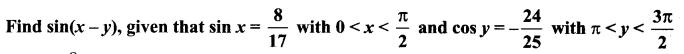 Samacheer Kalvi 11th Maths Solutions Chapter 3 Trigonometry Ex 3.4 11
