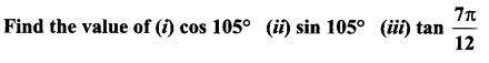 Samacheer Kalvi 11th Maths Solutions Chapter 3 Trigonometry Ex 3.4 13