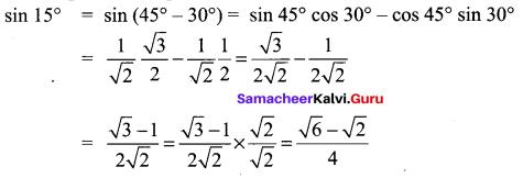 Samacheer Kalvi 11th Maths Solutions Chapter 3 Trigonometry Ex 3.4 18