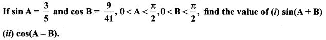 Samacheer Kalvi 11th Maths Solutions Chapter 3 Trigonometry Ex 3.4 5