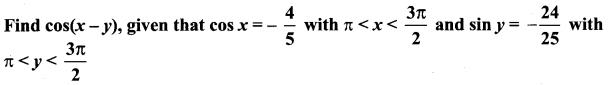 Samacheer Kalvi 11th Maths Solutions Chapter 3 Trigonometry Ex 3.4 8