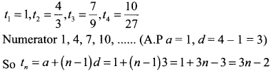 Samacheer Kalvi 11th Maths Solutions Chapter 5 Binomial Theorem, Sequences and Series Ex 5.3 10