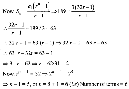 Samacheer Kalvi 11th Maths Solutions Chapter 5 Binomial Theorem, Sequences and Series Ex 5.3 25