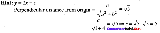 Samacheer Kalvi 11th Maths Solutions Chapter 6 Two Dimensional Analytical Geometry Ex 6.5 31