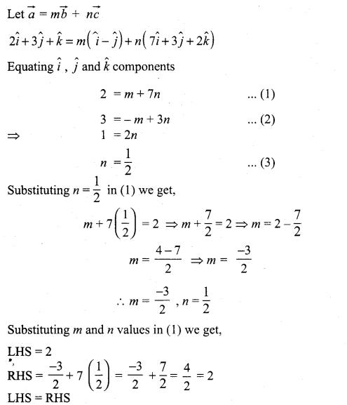 Samacheer Kalvi 11th Maths Solutions Chapter 8 Vector Algebra - I Ex 8.2 17