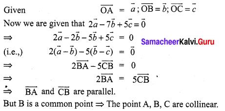 Samacheer Kalvi 11th Maths Solutions Chapter 8 Vector Algebra - I Ex 8.2 32