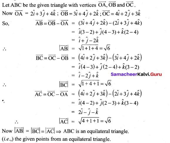 Samacheer Kalvi 11th Maths Solutions Chapter 8 Vector Algebra - I Ex 8.2 47