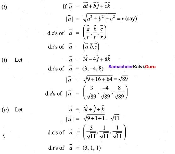 Samacheer Kalvi 11th Maths Solutions Chapter 8 Vector Algebra - I Ex 8.2 5