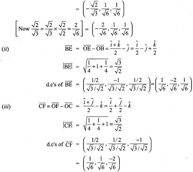 Samacheer Kalvi 11th Maths Solutions Chapter 8 Vector Algebra - I Ex 8.2 51
