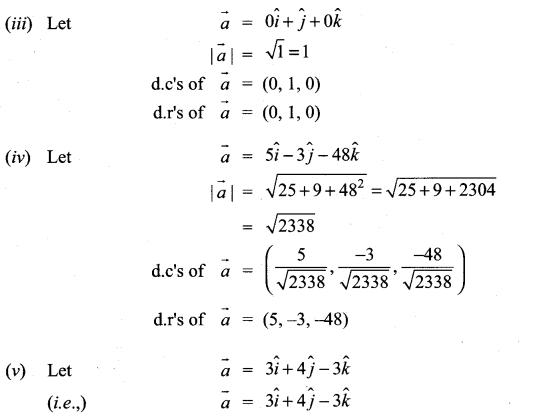 Samacheer Kalvi 11th Maths Solutions Chapter 8 Vector Algebra - I Ex 8.2 6