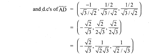 Samacheer Kalvi 11th Maths Solutions Chapter 8 Vector Algebra - I Ex 8.2 9
