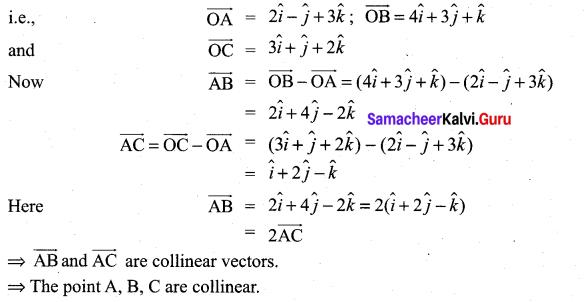 Samacheer Kalvi 11th Maths Solutions Chapter 8 Vector Algebra - I Ex 8.3 14