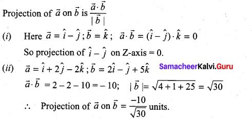 Samacheer Kalvi 11th Maths Solutions Chapter 8 Vector Algebra - I Ex 8.3 33