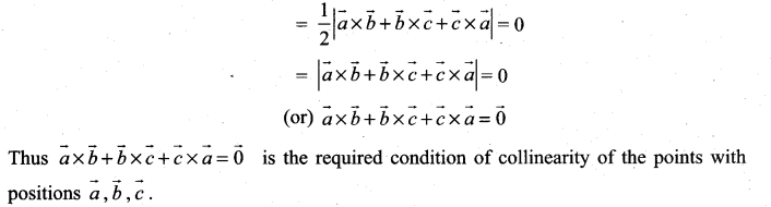 Samacheer Kalvi 11th Maths Solutions Chapter 8 Vector Algebra - I Ex 8.4 12