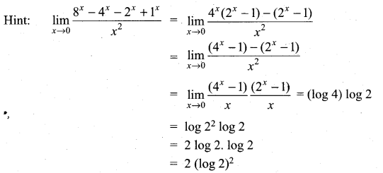 Samacheer Kalvi 11th Maths Solutions Chapter 9 Limits and Continuity Ex 9.6 16