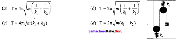 Samacheer Kalvi 11th Physics Solutions Chapter 10 Oscillations 12