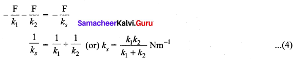 Samacheer Kalvi 11th Physics Solutions Chapter 10 Oscillations 136