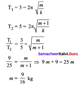 Samacheer Kalvi 11th Physics Solutions Chapter 10 Oscillations 148
