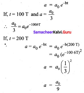 Samacheer Kalvi 11th Physics Solutions Chapter 10 Oscillations 44
