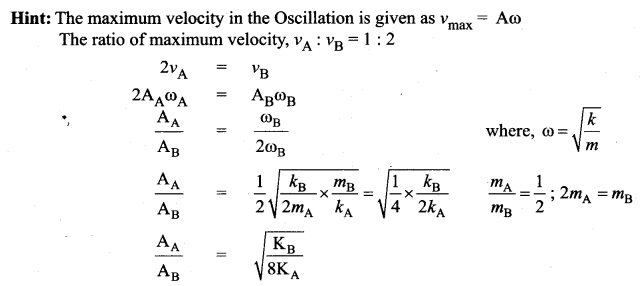Samacheer Kalvi 11th Physics Solutions Chapter 10 Oscillations 999