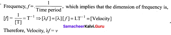 Samacheer Kalvi 11th Physics Solutions Chapter 11 Waves 19