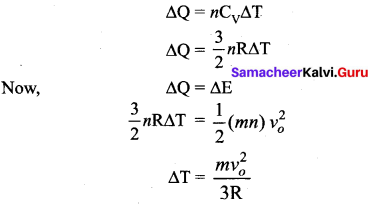 Samacheer Kalvi 11th Physics Solutions Chapter 9 Kinetic Theory of Gases 109