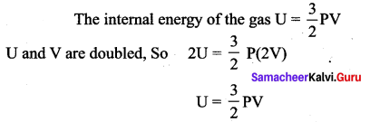 Samacheer Kalvi 11th Physics Solutions Chapter 9 Kinetic Theory of Gases 3