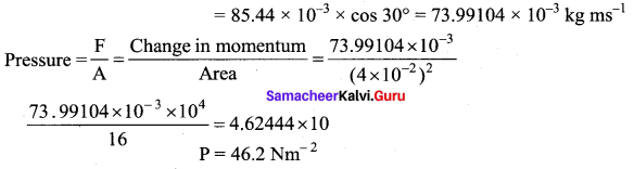 Samacheer Kalvi 11th Physics Solutions Chapter 9 Kinetic Theory of Gases 57