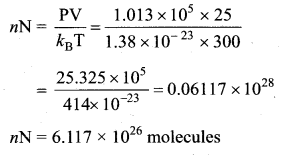 Samacheer Kalvi 11th Physics Solutions Chapter 9 Kinetic Theory of Gases 64