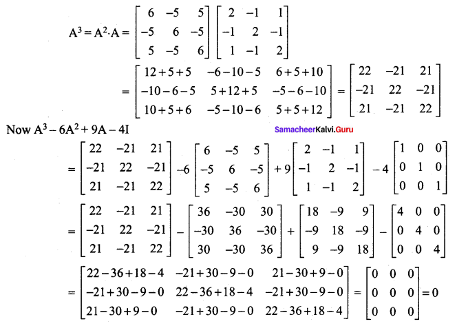 Samacheer Kalvi 12th Maths Solutions Chapter 1 Applications of Matrices and Determinants Ex 1.1 25