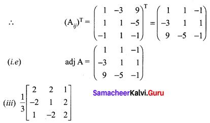 12th Maths Exercise 1.1 Samacheer Kalvi