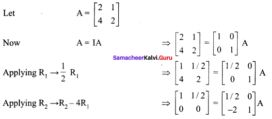 Samacheer Kalvi 12th Maths Solutions Chapter 1 Applications of Matrices and Determinants Ex 1.2 177