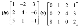 Samacheer Kalvi 12th Maths Solutions Chapter 1 Applications of Matrices and Determinants Ex 1.2 Q1.1