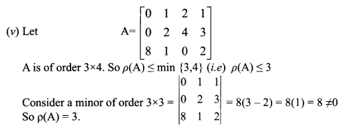 Samacheer Kalvi 12th Maths Solutions Chapter 1 Applications of Matrices and Determinants Ex 1.2 Q1.4