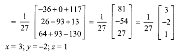 Samacheer Kalvi 12th Maths Solutions Chapter 1 Applications of Matrices and Determinants Ex 1.3 Q1.6