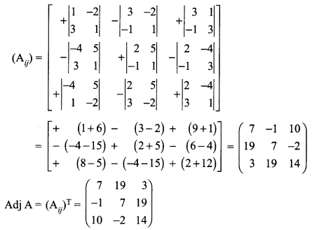 Samacheer Kalvi 12th Maths Solutions Chapter 1 Applications of Matrices and Determinants Ex 1.3 Q5.1