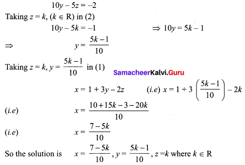 Samacheer Kalvi 12th Maths Solutions Chapter 1 Applications of Matrices and Determinants Ex 1.6 Q1.4