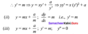 Samacheer Kalvi 12th Maths Solutions Chapter 10 Ordinary Differential Equations Ex 10.3 14