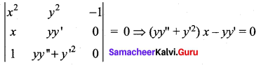 Samacheer Kalvi 12th Maths Solutions Chapter 10 Ordinary Differential Equations Ex 10.3 19