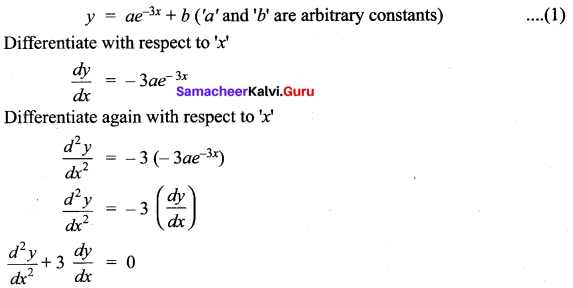 Samacheer Kalvi 12th Maths Solutions Chapter 10 Ordinary Differential Equations Ex 10.4 11