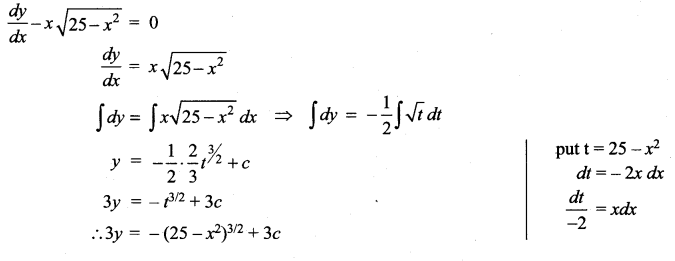 Samacheer Kalvi 12th Maths Solutions Chapter 10 Ordinary Differential Equations Ex 10.5 19