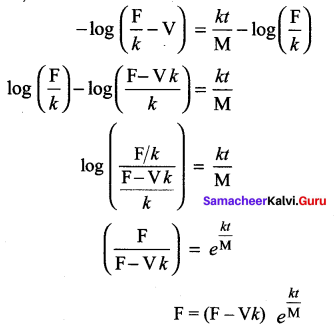 Samacheer Kalvi 12th Maths Solutions Chapter 10 Ordinary Differential Equations Ex 10.5 2