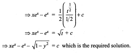 Samacheer Kalvi 12th Maths Solutions Chapter 10 Ordinary Differential Equations Ex 10.5 27