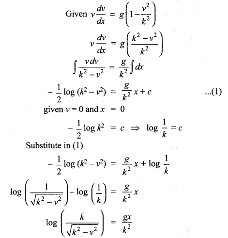 Samacheer Kalvi 12th Maths Solutions Chapter 10 Ordinary Differential Equations Ex 10.5 343