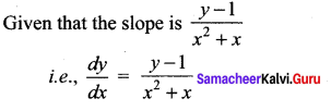 Samacheer Kalvi 12th Maths Solutions Chapter 10 Ordinary Differential Equations Ex 10.5 5