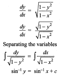 Samacheer Kalvi 12th Maths Solutions Chapter 10 Ordinary Differential Equations Ex 10.5 9